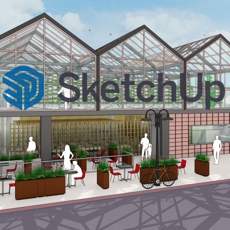 SketchUp Pro 2021 edukacja, dla szkół