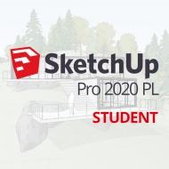 SketchUp Pro 2020 edukacja, dla studentów