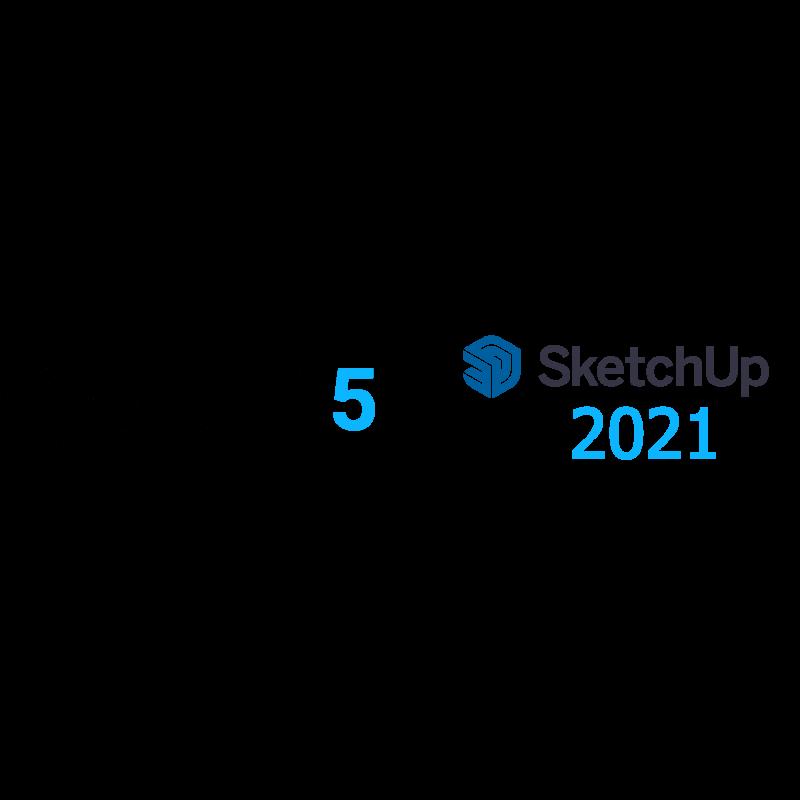 SketchUp Pro 2021 + V-Ray 5